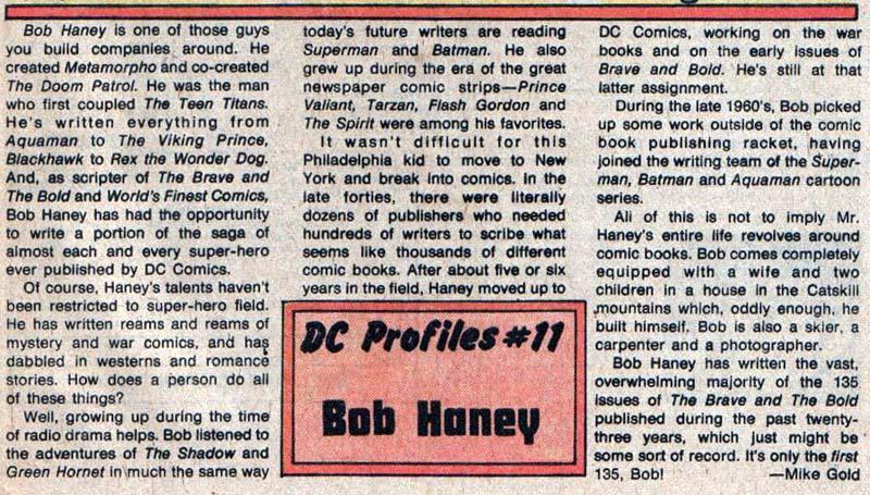 Bob Haney